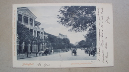 CINA CHINA  POST CARD SEND FROM SHANGHAI SHANG - HAI 1902 FOR TRIESTE - Cina