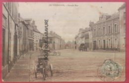 27 - LE VAUDREUIL---Grande Rue--Tricycle A Moteur ? (voir Scan) - Le Vaudreuil