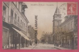 27 - BEZEUVILLE----Grande Rue--commerces---animé - Francia