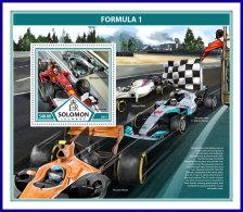 SOLOMON ISLANDS 2017 ** Formula 1 Formel 1 Formule 1 S/S - OFFICIAL ISSUE - DH1737 - Cars