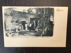AK  MEXICO  BAUERNGEHÖFT  MAISON DE CAMPAGNE  COUNTRY HOUSE  RANCHO DE CAMPO  PRE-1904  E. ARENZ - México