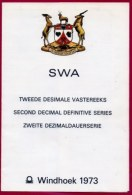 SWA, 1973, Mint F.D.C. Card Nr. 373-388, Cactusses, F3223 - South West Africa (1923-1990)