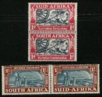 SOUTH AFRICA UNION, 1938, Mint Hinged Stamps, Great Trek,  127-130, #2441 - South Africa (...-1961)