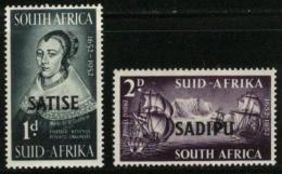 SOUTH AFRICA UNION, 1952, Mint Hinged Stamps, Satise/Sadipe,  229-230, #2455 - South Africa (...-1961)