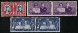 SOUTH AFRICA UNION, 1947, Mint Never Hinged Stamps, Royal Visit, 181-186,  #2447 - South Africa (...-1961)