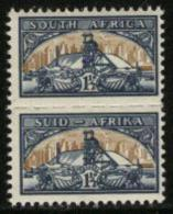 SOUTH AFRICA UNION, 1948, Mint Never Hinged Stamps, Gold Mine (reduced Size), 205-206,  #2448 - South Africa (...-1961)