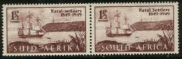 SOUTH AFRICA UNION, 1949, Mint Never Hinged Stamps, Settlers, 209-210,  #2452 - South Africa (...-1961)