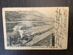 AK  PANAMA   EXECUTION DE LA TRANCHEE DE CULEBRA   1902. - Panama