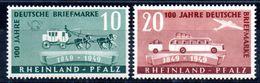 ALLEMAGNE - RHENO-PALATIN - YT N° 48-49 - Neufs ** - MNH - Cote: 25,00 € - French Zone