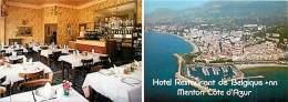 MENTON HOTEL RESTAURANT DE BELGIQUE - Cartes De Visite