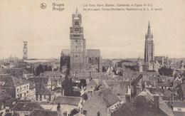 Brugge, Bruges, De Drie Voorn. Torens, Halletoren, Hoofdkerk En O.L.V.Toren (pk38934) - Brugge