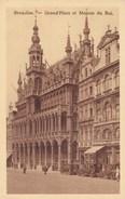 Brussel, Bruxelles, Grand Place Et Maison Du Roi (pk38935) - Places, Squares