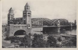 Allemagne - Köln Am Rhein - Pont - Hohenzollerbrücke - Koeln