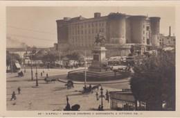 NAPOLI - MASCHIO ANGIOING E MONUMENTO A VITTORIO - Napoli (Naples)