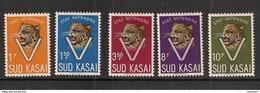 CONGO SUD-KASAI 20/24 MNH NSCH ** - South-Kasaï
