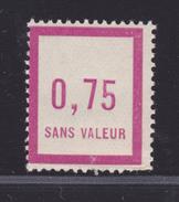 FRANCE FICTIF N°  F14 ** MNH Neuf Sans Charnière, Défauts De Dentelure (Lot D1)) - Ficticios