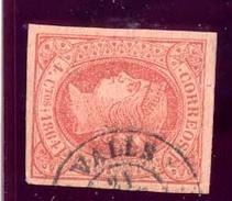 Año 1864 Edifil 64 Sello 4c Isabel II Matasellos Valls Tarragona Tipo II - 1850-68 Königreich: Isabella II.