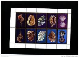 PALAU - 1984  SHELLS   SHEETLET  MINT NH - Palau