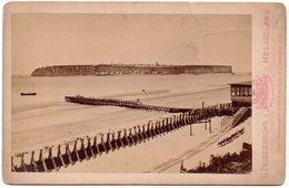 Cabinet Photo - Germany Heligoland / Helgoland By Friederichs ~1880 - Orte