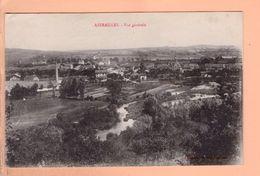 Cpa Cartes Postales Ancienne - Azerailles Vue Generale - France