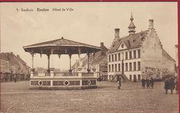 Eeklo Eecloo Stadhuis Hotel De Ville ZELDZAAM (In Zeer Goede Staat) - Eeklo