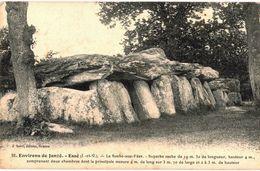 CPA N°9157 - LOT DE 2 CARTES DES ENVIRONS DE JANZE - ESSE - LA ROCHE AUX FEES - Andere Gemeenten