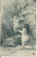 Femme Nue - Nus Adultes (< 1960)