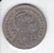 MONEDA DE PORTUGAL DE 50 CENTAVOS DEL AÑO 1929 - Portugal
