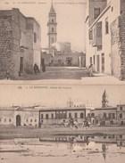 La Goulette. Entrée De L'Arsenal N°4  2ème Carte(  La Goulette Avenue Cardinal Lavigerie Et L'Eglise ) - Túnez