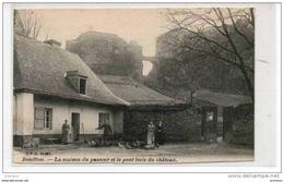 BOUILLON   La Maison Du Passeur Et Le Pont Levis Du Chateau - Bouillon