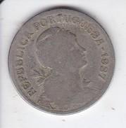 MONEDA DE PORTUGAL DE 1 ESCUDO DEL AÑO 1927 - Portugal