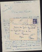 Guerre 1939 1945 Chantier De Jeunesse 8 Chatelard En Bauge Savoie La Crochère La Relève CJF 8 FM 9 Franchise Militaire - WW II