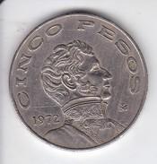 MONEDA DE MEXICO DE 5 PESOS DEL AÑO 1972 - México