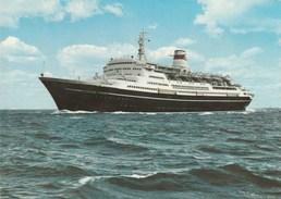 "7046.   The Baltic Shipping Company M.s. "" Alexandr Pushkin "" - 1979 - Fähren"