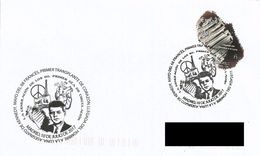 SPAIN. FDC ARRIVAL OF MAN TO THE MOON. 2017 - FDC
