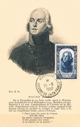FRANCE Carte Maximun  N° 872. B.Ed MF 176 Pt Ft Vert Noir.1.Obl Sp Temp Assemb Union 15 09 1950 Versailles - 1950-59