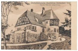 Reichenberg / Deutscböhmische Ausstellung Reichenberg 1906 / With Ads On Verso. - Duitsland