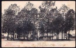 SINT NIKLAAS -  ST NICOLAS -- Place De La Régence  - Niet Courante Sugg - Kaart - Sint-Niklaas