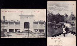 2 MOOIE KAARTEN SINT TRUIDEN 1903 EN 1907 - Sint-Truiden
