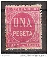 España Impuesto De Guerra 58 (*) Cifra 1.00 Rojo - Impuestos De Guerra