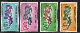 1968 Maldives WHO Health  Complete Set Of 8  MNH - Malediven (1965-...)