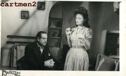 "FILM "" NOUS NE SOMMES PAS MARIES "" ATTRICE ACTEUR Louise Carletti Robert Arnoux Roland Toutain BERTAZZINI TURIN - Attori"