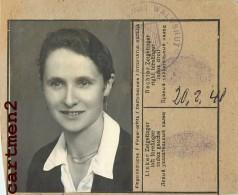 PERSONALAUSWEIS ? DEUTSCHLAND ERFASST LANDRATSAMT WALDSHUT 1947 CARTE D'IDENTITE ? - Vieux Papiers