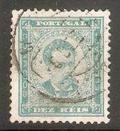 001279 Portugal 1886 Luiz 10 Reis FU - 1862-1884 : D.Luiz I
