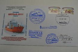 Russia Arctic Akademik Fedorov Icebreaker 26/4/2011 Information Cover - Unclassified
