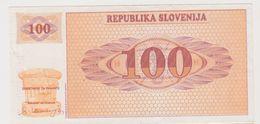 SLOVENIE 100 Tolarjev 1990 P6a VF+ - Slovénie
