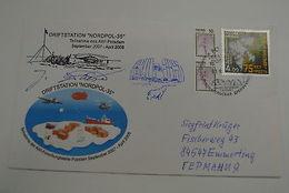 Russia Arctic Academik Fedorov Icebreaker North Pole 35 Signed Stamp 2008 - Unclassified