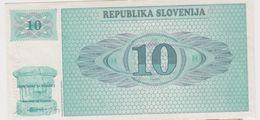 SLOVENIE 10 Tolarjev 1990 P4a VF - Slovénie