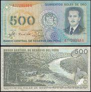 Peru 500 SOLES De Oro 1982 P 125A VF+ (Pérou) - Peru
