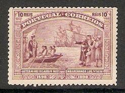 001292 Portugal 1898 10 Reis Mint No Gum - Unused Stamps